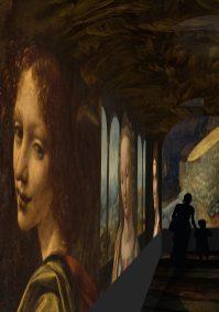 Spectacle immersif - image de synthèse © Château du Clos Lucé – Parc Leonardo da Vinci. Arc-en-Sce:ne : Drôle de Trame 3