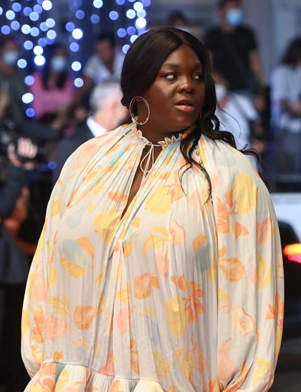 Deborah Lukumuena in Messika - Cannes Film Festival - 08072021 (2)