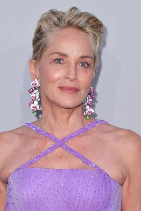 SHARON STONE IS MADE UP BY DIOR FOR THE FACE : DIOR FOREVER NATURAL NUDE - NEUTRAL 2N DIORSKIN FOREVER SKIN CORRECT - NEUTRAL 1.5N DIOR BACKSTAGE POWDER-NO-POWDER - NEUTRAL 2N FOR THE EYES : DIORSHOW MONO COULEUR COUTURE - 616 GOLD STAR KABUKI BROW STYLER - 011 GOLD BLOND MASCARA DIORSHOW ICONIC OVERCURL WATERPROOF - 091 NOIR FOR THE LIPS : ROUGE DIOR 2020 - SATIN 343 PANAREA BLUSH : ROUGE BLUSH - DELICATE MATTE 136
