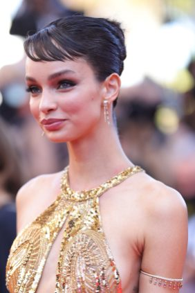 """CANNES, FRANCE - JULY 08: Luma Grothe attends the """"Stillwater"""" screening during the 74th annual Cannes Film Festival on July 08, 2021 in Cannes, France. (Photo by Andreas Rentz/Getty Images)"""