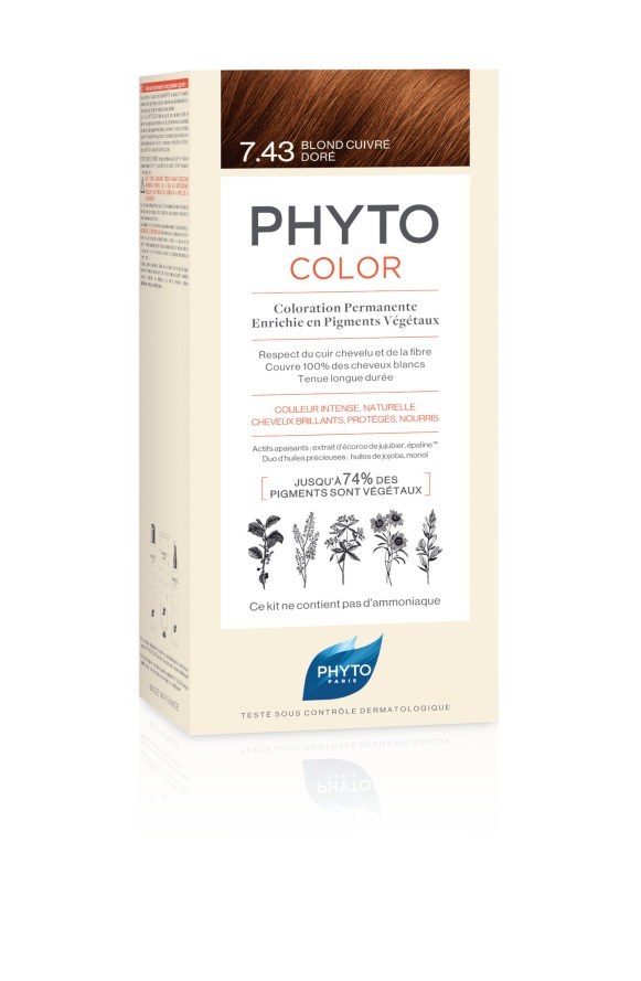 PHYTOCOLOR - 7.43 - BLOND CUIVRE DORE