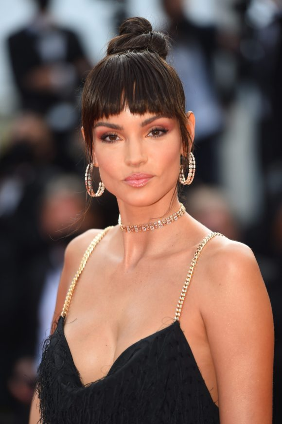 """CANNES, FRANCE - JULY 15: Sofia Resing attends the """"France"""" screening during the 74th annual Cannes Film Festival on July 15, 2021 in Cannes, France. (Photo by Stephane Cardinale - Corbis/Corbis via Getty Images)"""