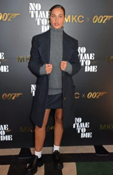 LONDON, ENGLAND - SEPTEMBER 29: Sarah Lysander attends a private screening of 'No Time To Die' hosted by Michael Kors in celebration of the Michael Kors Bond 007 Capsule Collection partnership, at the Everyman Chelsea on September 29, 2021 in London, England. (Photo by David M. Benett/Dave Benett/Getty Images for Michael Kors)