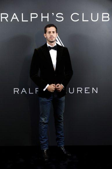 PARIS, FRANCE - OCTOBER 02: Victor Belmondo wearing Ralph Lauren attends the launch of Ralph's Club Eau de Parfum at Ralph's as part of the Paris Fashion Week - Womenswear Spring Summer 2022 on October 02, 2021 in Paris, France. (Photo by Julien M. Hekimian/Getty Images For Ralph Lauren )