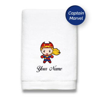 superhero-edition-captain-marvel-luxurious-towels