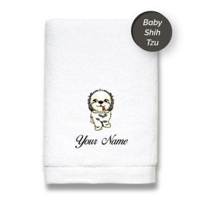 dog-edition-luxurious-towels-SHIH-TZU
