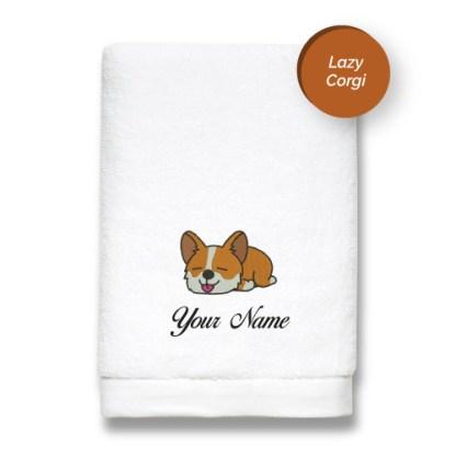 dog-edition-luxurious-towels-LAZY-CORGI