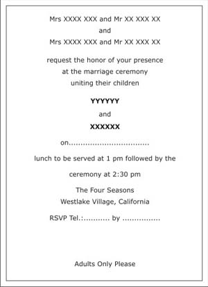 31 Indian Wedding Invitations Wording For Friends