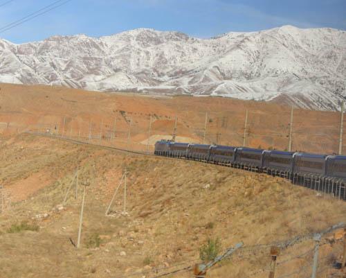 Train Through Uzbekistan