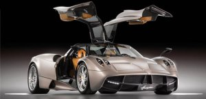 Design of the Pagani Huayra
