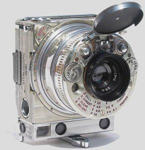 Compass camera by Noel Pemberton Billing and Jaeger-LeCoultre
