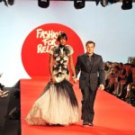 Racing legend and Montegrappa share holder Jean Alesi takes to the catwalk