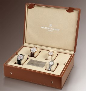 A unique Family Set of Timepieces by Frederique Constant will be auctioned on September 22nd, 2011