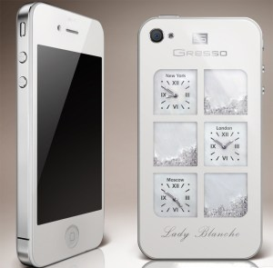 Gresso iPhone4 Lady Blanche from the Time Machine Collection