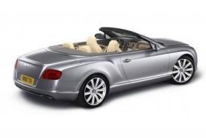 The new Bentley Continental GTC - Bold, contemporary with sculpted design 2