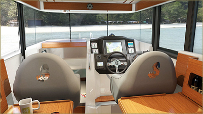 Comfort is available in the exterior and interior style