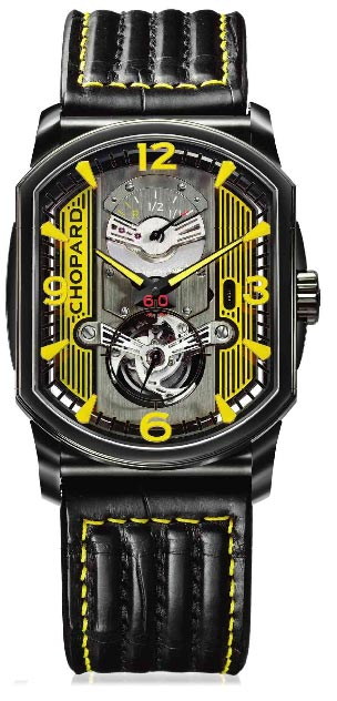 Chopard L.U.C Engine One Tourbillon titanium DLC chronometer watch