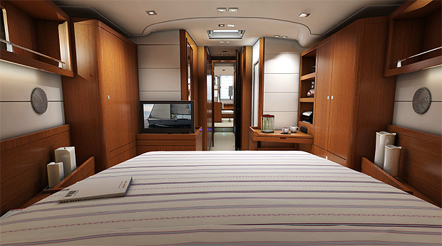 The new Beneteau 55 ft Sense yacht - Making the super yacht world accessible