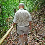 Uncle Yip leading the Jungle Trek