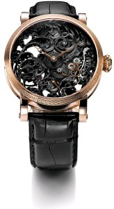 Once again Grieb and Benzinger produce another stunning horological time piece, the Blossom Black Tulip watch