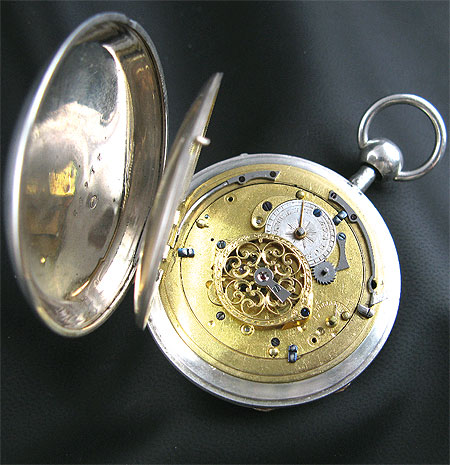 Cylinder escapement Blancpain pocket watch.
