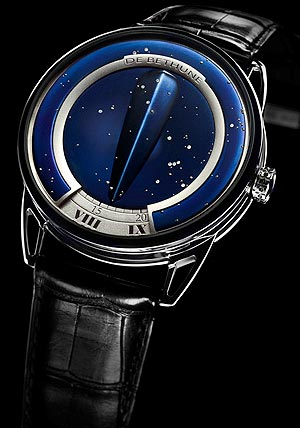 De Bethune DB25 Special Edition 18K white gold and diamond set wrist watch