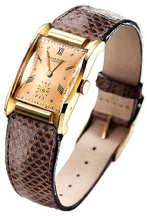 The new Baume and Mercier Hampton watch