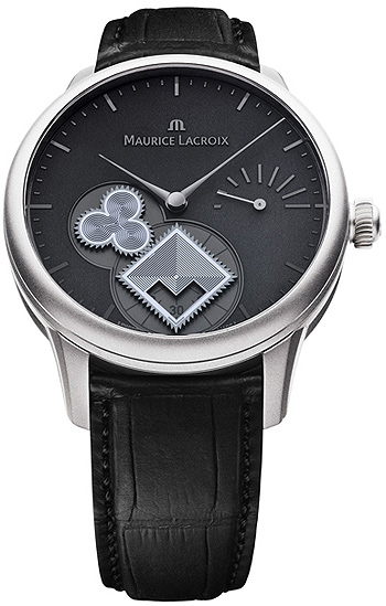 Maurice Lacroix Masterpiece Roue Carrée Seconde Stainless steel wristwatch