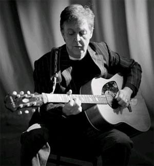 Paul McCartney by Chris floyd