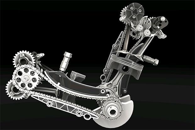 "The eagerly awaited Ducati 1199 Panigale ""Superquadro"" power house revealed 2"