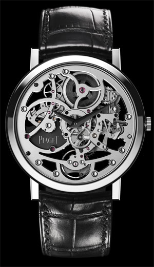 Piaget Altiplano Skeleton Ultra-Thin with the Piaget 1200S ultra-thin skeletonised movement set two watch records