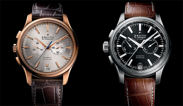Zenith Watches Captain Chronograph in an 18K rose gold case