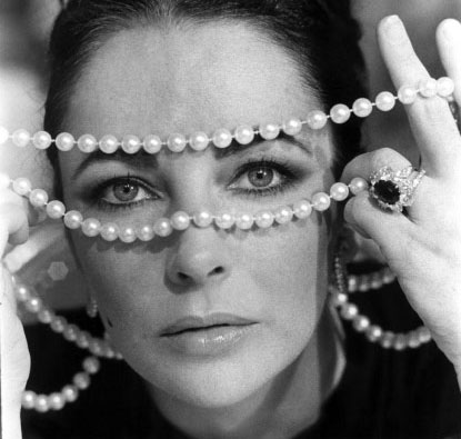 Elizabeth Taylor's incredible collection of Van Cleef & Arpels jewelry. © Christie's Images 2011