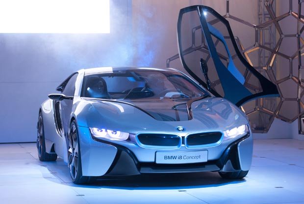 "The BMW i8 Concept is the Successor to the BMW Vision EfficientDynamics Car Featured in the New Film ""Mission Impossible: Ghost Protocol""Starring Tom Cruise and Paula Patton to be Released December 21st."