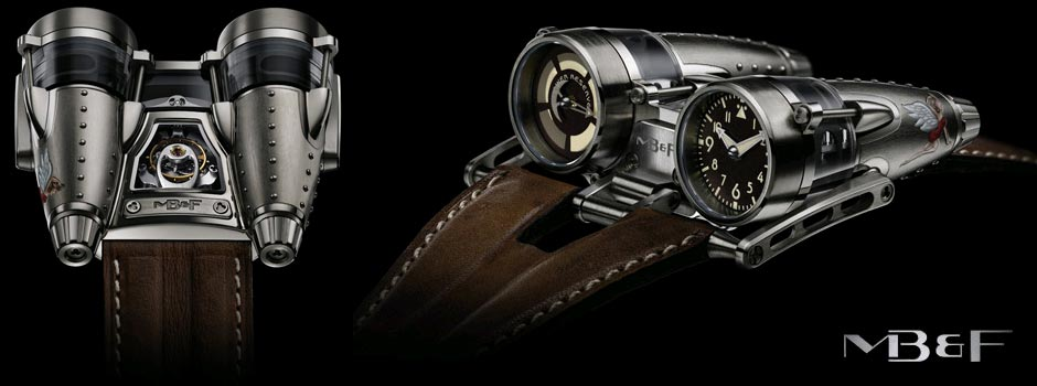 The MB&F HM4 Horological Machine No4 watch : Razzle Dazzle and Double Trouble