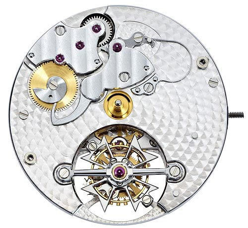 The architecture of this new Calibre 2260 features, comprising 231 components, two large bridges