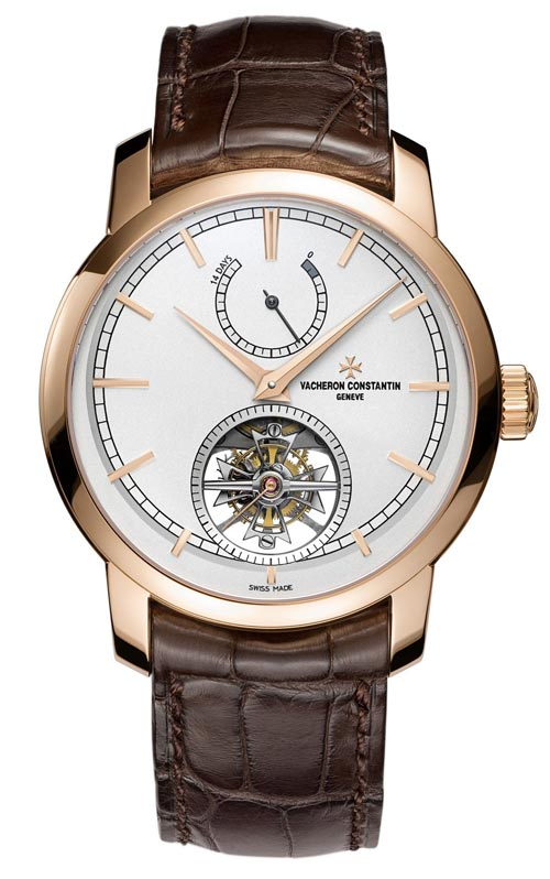 The Vacheron Constantin Patrimony Traditionelle 14 Day Tourbillon