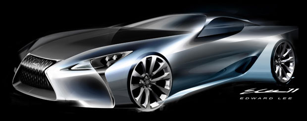 The Lexus LF-LC Hybrid Sport Coupe Concept wins annual EyesOn Design Award for best concept car