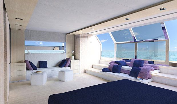 Wally reveals further details of the Wally Ace, its groundbreaking displacement Yacht