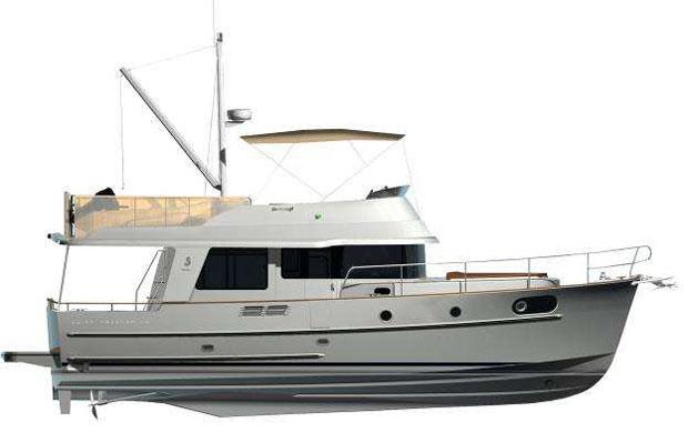 About the Beneteau Swift Trawler 44