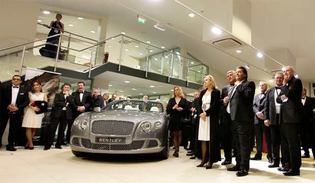 Bentley open the opening of its 33rd showrooms in Europe and the third dealership in France