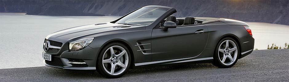 New Mercedes-Benz SL with more comfort and sportiness, setting new standards in the luxury roadster class