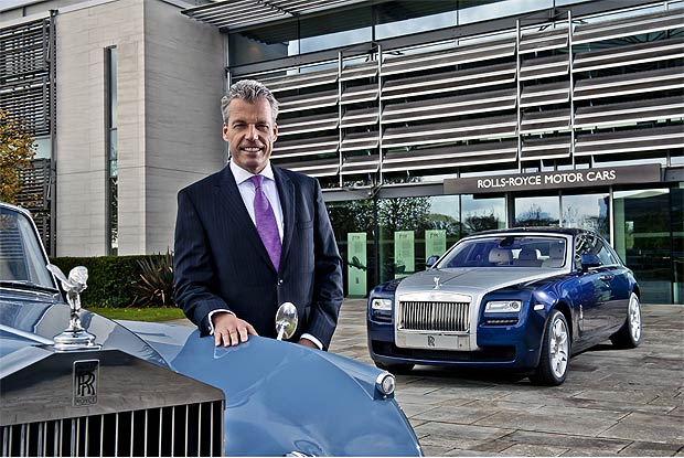 Rolls-Royce sells 3538 cars the highest number of sales in its illustrious 107 year history