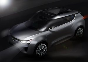 SsangYong is developing the XIV-2 (eXciting User Interface Vehicle 2) concept as a premium CUV (crossover utility vehicle). A strategic model for the global market, its styling cue is based around 'a special experience with fun', and blends the characteristics of a robust and powerful SUV with the dynamic style of an open top sports coupé.