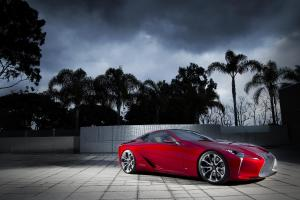 The Lexux LF-LC concept car was the people favourite at the Chicao Auto Show.
