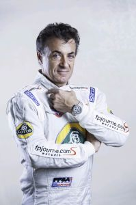 The Aluminium F.P Journe Centigraphe Sport watch as worn by Jean Alesi.