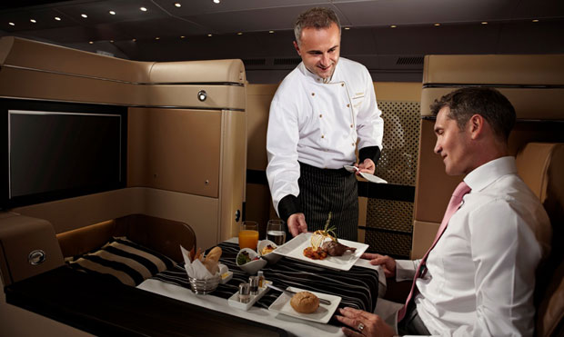 Etihad Airways will introduce farm-to-table, organic inflight dining in first class.