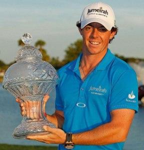 Audemars Piguet Ambassador, Golfer Rory McIlroy climbs to World Number 1.