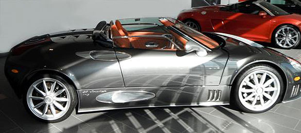 Aston Barclay is set to auction an extremely rare Spyker C8 Spyder on March 21st.