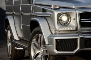 The new Mercedes-Benz G63 AMG, 37 HP more than the G55 AMG Kompressor. 5